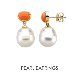 Pearl Earrings style=